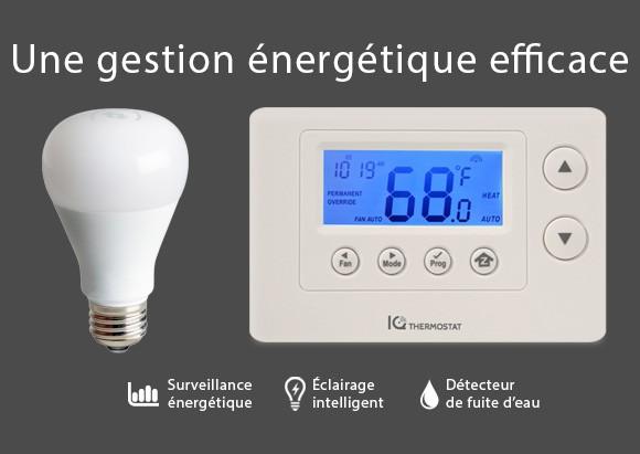 Une gestion énergétique efficace