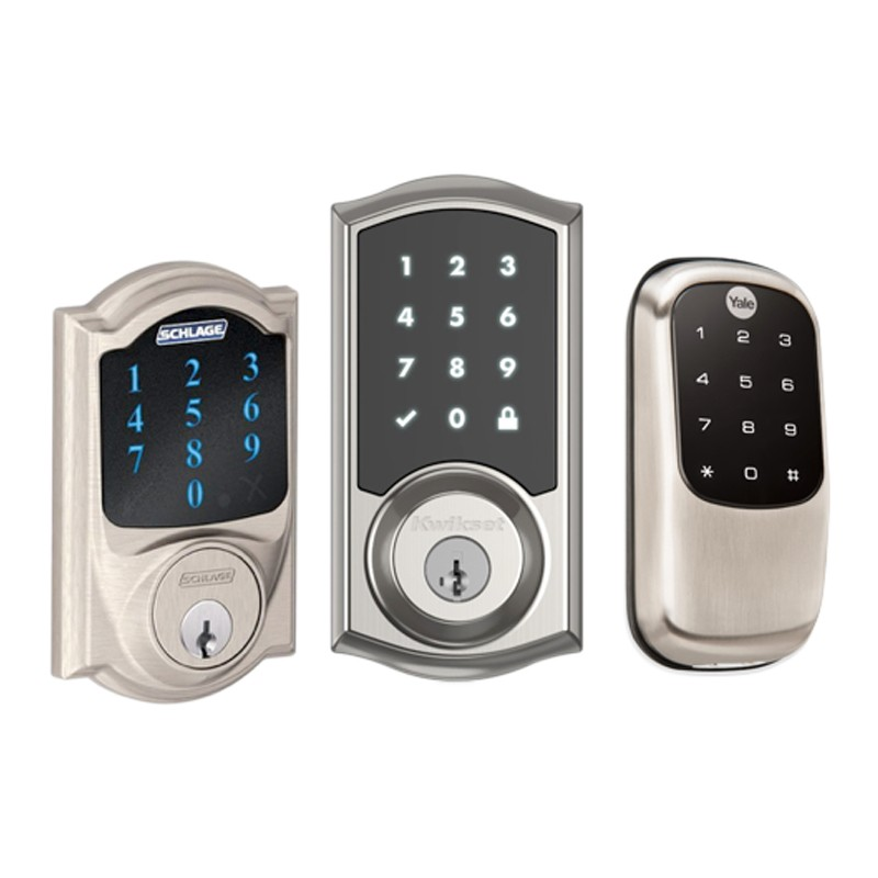 Z Wave Smart Door Lock Smartphone Compatible